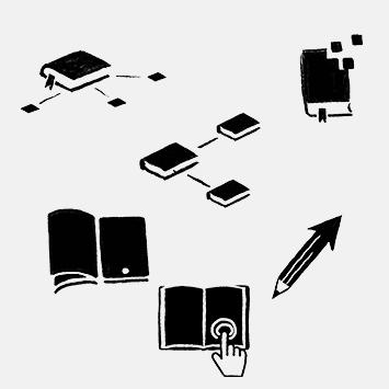 Klasse Digital Logoentwicklung Skizze